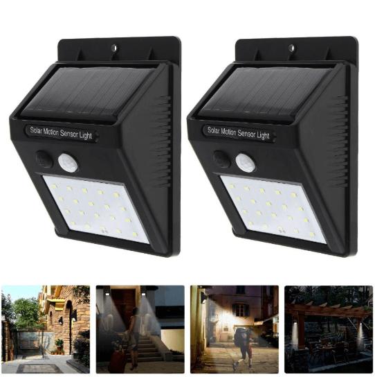Đèn led chống trộm năng lượng mặt trời cho gia đình bạn
