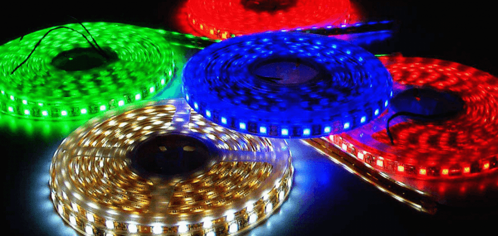 các loại đèn led dây năng lượng mặt trời