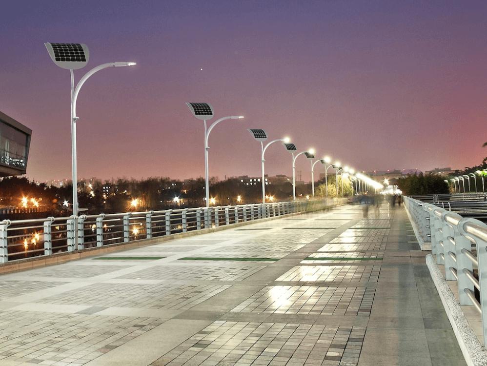 Đèn Led năng lượng mặt trời Solar Light chiếu sáng đường phố