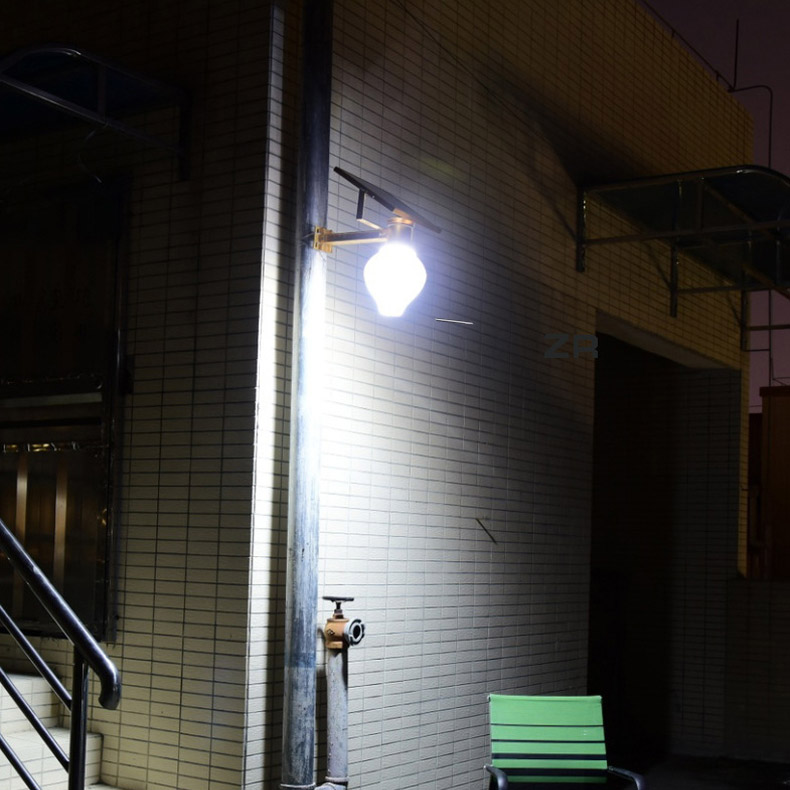 đèn sân vườn năng lượng mặt trời