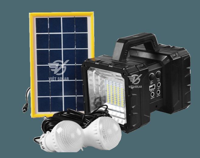 bộ sản phẩm đèn xách tay năng lượng mặt trời