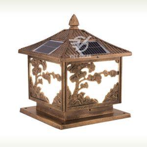 Đèn trụ cổng năng lượng mặt trời mới nhất