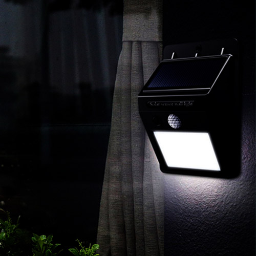 đèn led cảm biến năng lượng mặt trời