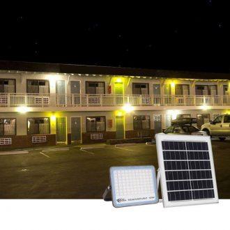 đèn năng lượng mặt trời 100w mới nhất