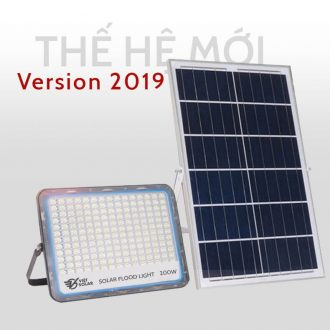 đèn năng lượng mặt trời 200w mới nhất