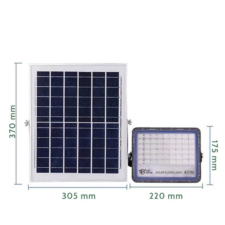 đèn năng lượng mặt trời 40w mới nhất