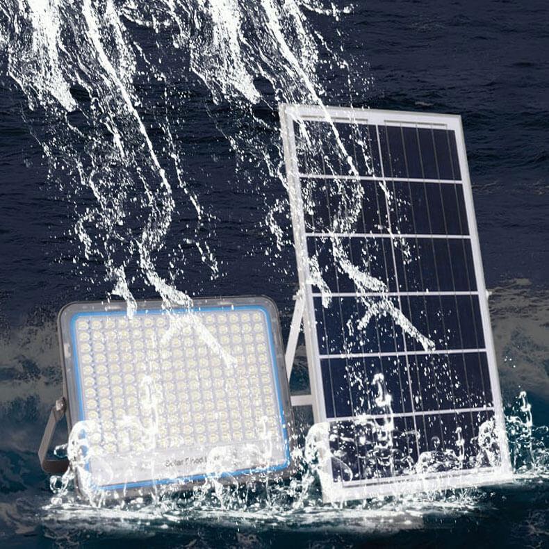 khả năng chống nước của đèn năng lượng mặt trời