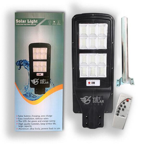 bộ sản phẩm đèn đường năng lượng mặt trời 2020