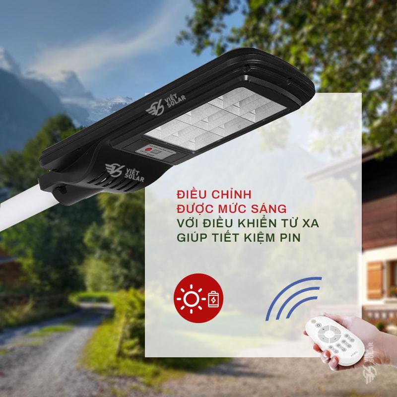 Đèn đường năng lượng mặt trời Việt Solar