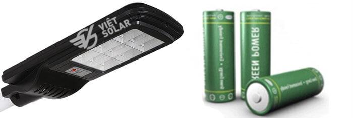 pin lithium của đèn năng lượng mặt trời 2020
