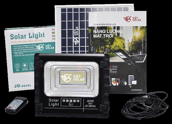 Bộ sản phẩm đèn năng lượng mặt trời chính hãng mới nhất