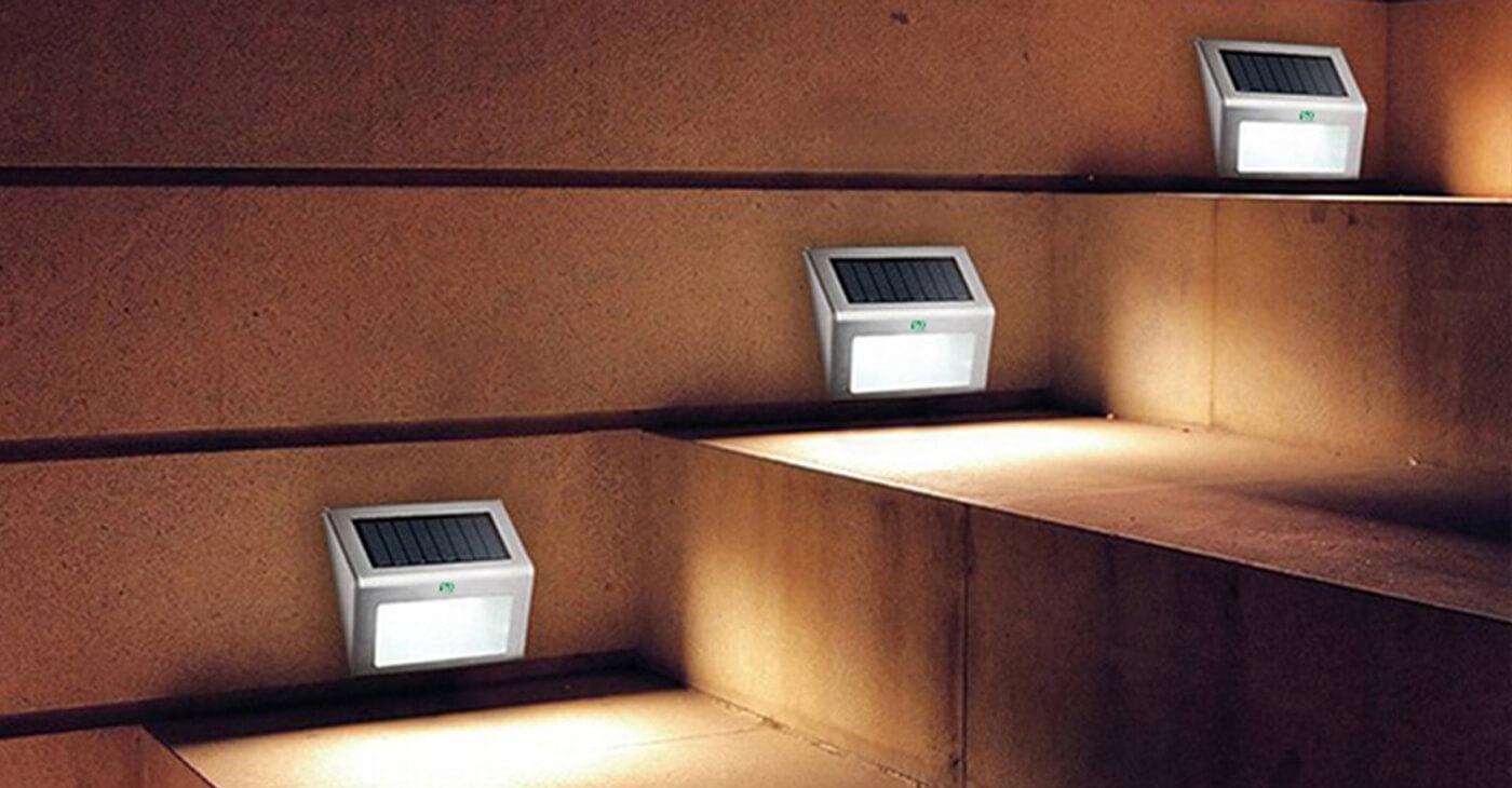 Đèn cảm biến cầu thang năng lượng mặt trời Solar Light