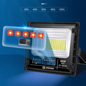 Led báo pin chính xác của đèn năng lượng mặt trời