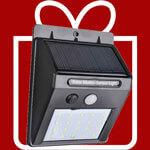 quà tặng đèn cảm biến năng lượng mặt trời 4w